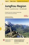 Landeskarte der Schweiz Jungfrau Region