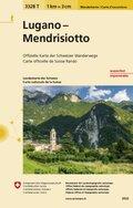 Landeskarte der Schweiz Lugano Medrisio