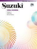 Suzuki Viola School, m. 1 Audio-CD - Vol.4