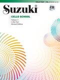 Suzuki Cello School, m. 1 Audio-CD - Vol.2
