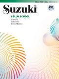 Suzuki Cello School, Cello Part, w. 1 Audio-CD - Vol.3