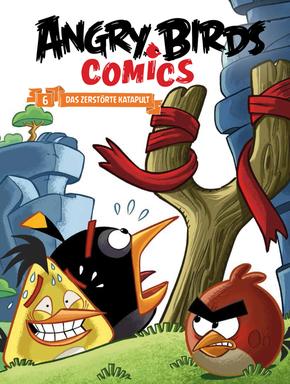 Angry Birds - Das zerstörte Katapult (Comics)