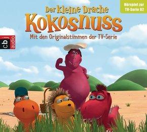 Der Kleine Drache Kokosnuss - Hörspiel zur TV-Serie, 1 Audio-CD - Tl.2