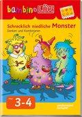 bambinoLÜK: Schrecklich niedliche Monster: Denken und Kombinieren; Nr.107