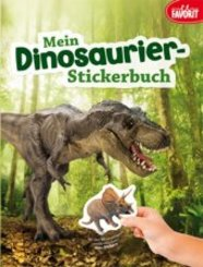 Mein Dinosaurier-Stickerbuch