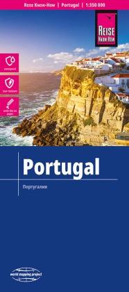 Reise Know-How Landkarte Portugal (1:350.000)