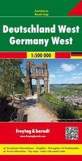 Freytag & Berndt Autokarte Deutschland West 1:500.000; Germany West