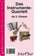 Das Instrumente-Quartett (Kartenspiel)