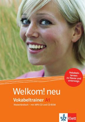 Welkom! neu - Niederländisch für Anfänger: Vokabeltrainer A1, CD-ROM + Heft + MP3-CD