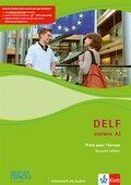 DELF scolaire - Prets pour l' Europe, Nouvelle édition: Niveau A2 - Arbeitsheft, m. Audio-CD