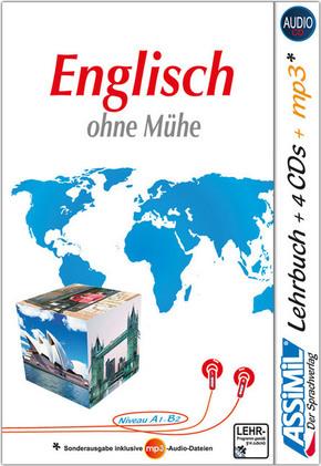 Assimil Englisch ohne Mühe, Lehrbuch + 4 Audio-CDs + 1 mp3-CD