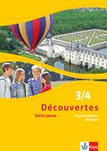 Découvertes - Série jaune: 99 grammatische Übungen, 3./4. Lernjahr; Bd.3/4