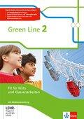 Green Line, Bundesausgabe ab 2014: 6. Klasse, Fit für Tests und Klassenarbeiten mit CD-ROM und Lösungen; Bd.2