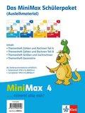 MiniMax: 4. Schuljahr, Das Minimax Schülerpaket (Ausleihmaterial), 4 Hefte