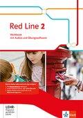 Red Line. Ausgabe ab 2014: 6. Klasse, Workbook mit Audio-CD und CD-ROM; Bd.2