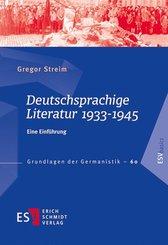 Deutschsprachige Literatur 1933-1945