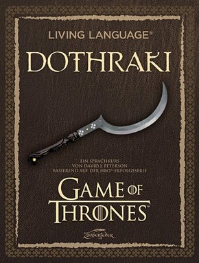 A Game of Thrones - Living Language Dothraki, m. Audio-CD