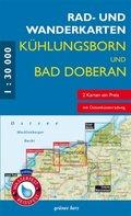 Rad- und Wanderkarten-Set: Kühlungsborn und Bad Doberan, 2 Bl.