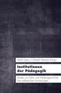Institutionen der Pädagogik