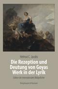 Die Rezeption und Deutung von Goyas Werk in der Lyrik