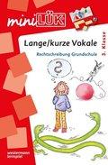 miniLÜK: Lange/kurze Vokale: Rechtschreibung Grundschule ab 3.Klasse