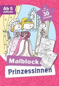 Malblock Prinzessinnen