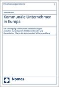 Kommunale Unternehmen in Europa