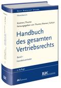 Handbuch des gesamten Vertriebsrechts: Handelsvertreter; Bd.1
