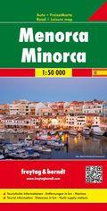 Freytag & Berndt Auto + Freizeitkarte Menorca; Freytag Berndt Road Map Minorca