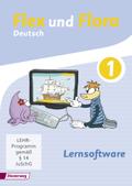 Flex und Flora - Deutsch: Lernsoftware 1, 1 CD-ROM