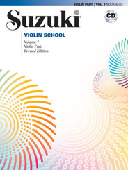 Suzuki Violin School, Violin Part, w. 1 Audio-CD - Vol.7