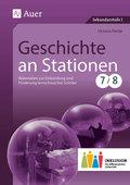 Geschichte an Stationen, Klassen 7/8 Inklusion