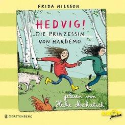 Hedvig! Die Prinzessin von Hardemo, 3 Audio-CDs