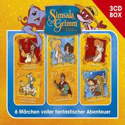 SimsalaGrimm 3-CD Hörspielbox, 3 Audio-CD - Vol.2