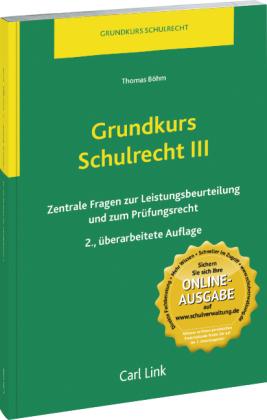 Grundkurs Schulrecht III