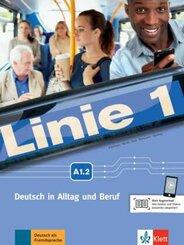Linie 1: Kurs- und Übungsbuch A1.2, m. DVD-ROM