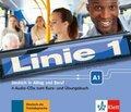 Linie 1: 4 Audio-CDs zum Kurs- und Übungsbuch A1