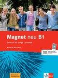 Magnet neu - Deutsch für junge Lernende: Kursbuch, m. Audio-CD; Bd.B1