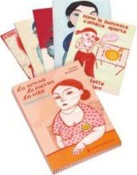 La nonna, la cucina, la vita, 12 Postkarten (6 Motive)