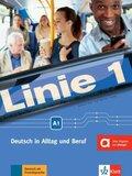 Linie 1: Kurs- und Übungsbuch A1, m. DVD-ROM