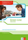 Green Line Oberstufe, Ausgabe 2015: Listening Comprehension Tests, Arbeitsheft mit CD-extra