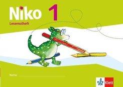 Niko, Ausgabe ab 2014: 1. Schuljahr, Lesemalheft