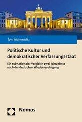 Politische Kultur und demokratischer Verfassungsstaat