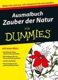 Ausmalbuch Zauber der Natur für Dummies