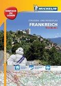 Michelin Straßen- und Reiseatlas Frankreich mit Spiralbindung