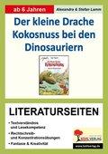 """Ingo Siegner """"Der kleine Drache Kokosnuss bei den Dinosauriern"""", Literaturseiten"""