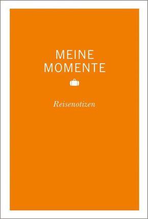 MERIAN Momente Meine Momente Reisenotizen (orange)