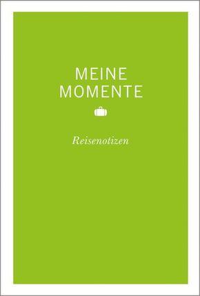 MERIAN Momente Meine Momente Reisenotizen (grün)
