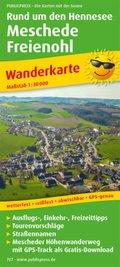PublicPress Wanderkarte Rund um den Hennesee, Meschede - Freienohl