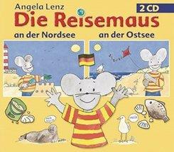 Die Reisemaus: An der Nord- und Ostsee, 2 Audio-CDs